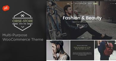 Orise Store - Multi-Purpose WooCommerce Theme 2