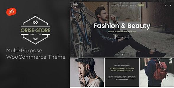 Orise Store - Multi-Purpose WooCommerce Theme 1
