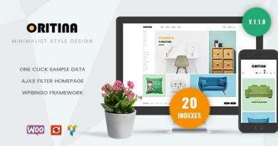 Oritina - Minimal Furniture WooCommerce Theme 4