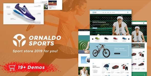 Ornaldo | Sport Shop WooCommerce WordPress Theme 3