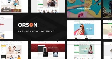 Orson - WordPress Theme for Online Stores 17