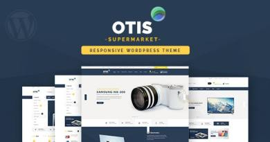 Otis - Multipurpose WooCommerce WordPress Theme 3