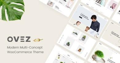 Ovez - Modern Multi-Concept WooCommerce Theme 4