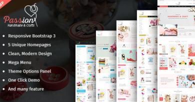 Passion - Handmade & Craft WooCommerce WordPress Theme 12