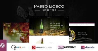 Passo Bosco - Wine & Vineyard WordPress Theme 4