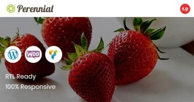 Perennial - Store WooCommerce WordPress for Organic Food Theme 3