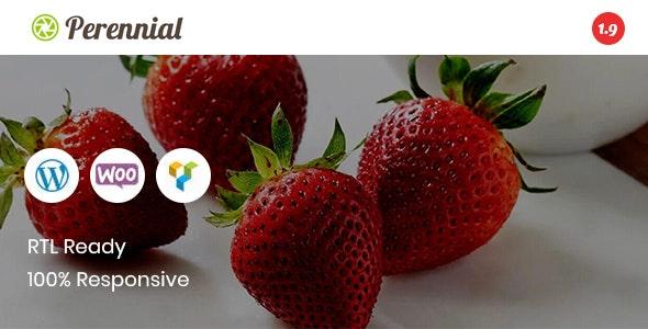 Perennial - Store WooCommerce WordPress for Organic Food Theme 1