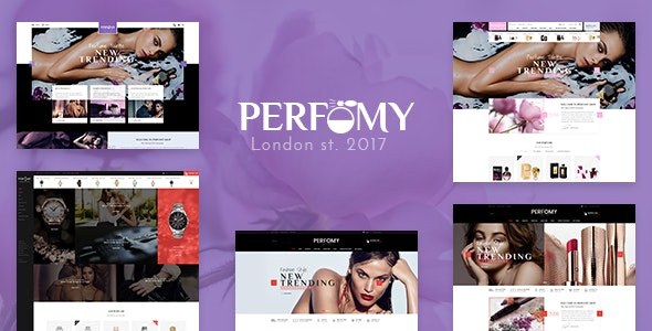 Perfomy - Perfume & Jewelry WooCommerce WordPress Theme 1