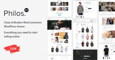 Philos - Responsive WooCommerce WordPress Theme 3