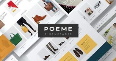 Poeme - Multipurpose WooCommerce WordPress Theme 3