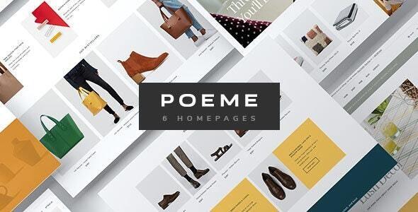 Poeme - Multipurpose WooCommerce WordPress Theme 1