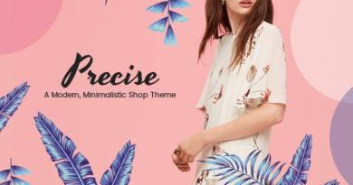 Precise - A Modern, Minimalistic Shop Theme 9