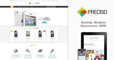 Preciso Shopfront - WooCommerce Theme 2