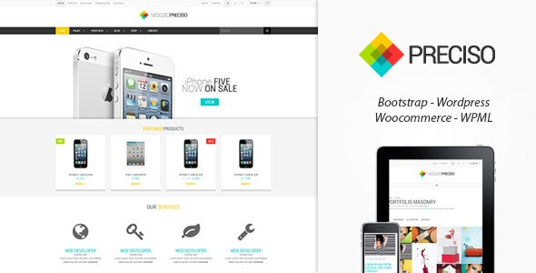 Preciso Shopfront - WooCommerce Theme 1
