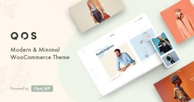 QOS - Fashion WooCommerce WordPress Theme 6