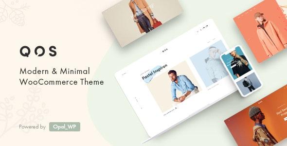 QOS - Fashion WooCommerce WordPress Theme 1