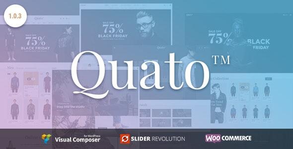 Quato - Responsive WooCommerce WordPress Theme 3