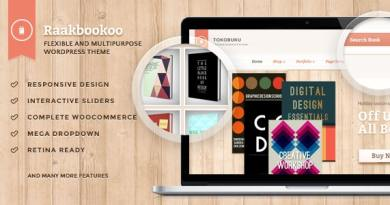 Raakbookoo - Woocommerce Theme For Book Store 2