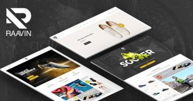 Raavin - Responsive WooCommerce WordPress Sport Shoes Theme 3