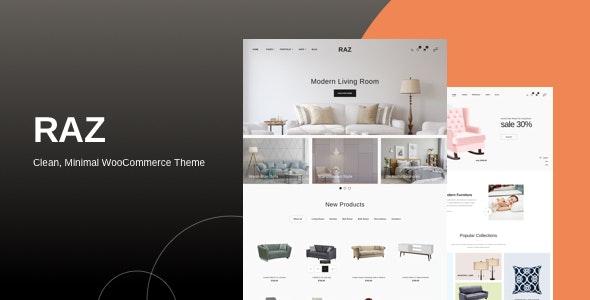 Raz - Clean, Minimal WooCommerce Theme 11
