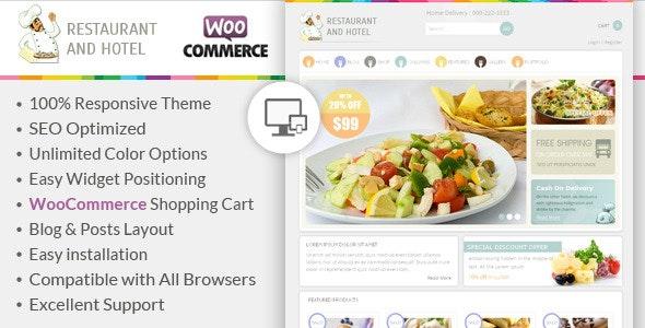 Restaurant - Responsive WooCommerce Theme 10