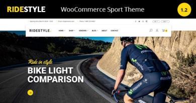 Ridestyle -Bike Sport Store WooCommerce Theme 54