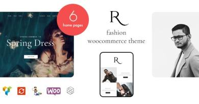 Rion - Fashion WordPress Theme for WooCommerce 3