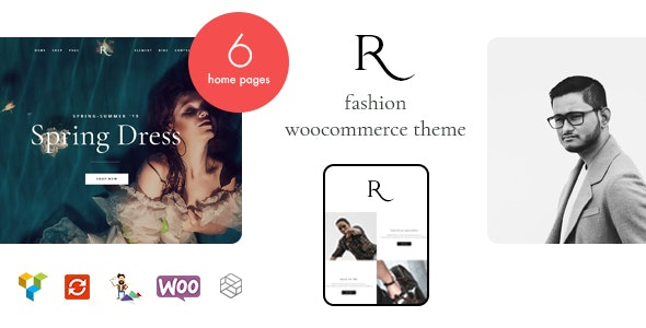 Rion - Fashion WordPress Theme for WooCommerce 1