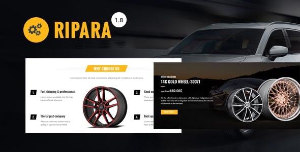 Ripara - Auto Repair & Car WooCommerce WordPress Theme 1