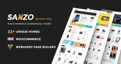 Sanzo | Responsive WooCommerce WordPress Theme 3
