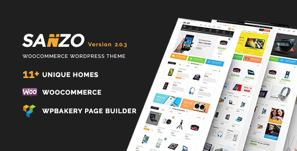 Sanzo | Responsive WooCommerce WordPress Theme 2