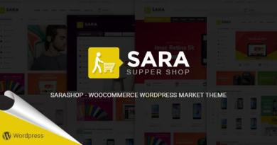 Sara - WooCommerce WordPress Market Theme 3