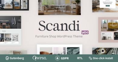 Scandi - Decor & Furniture Shop WooCommerce Theme 4