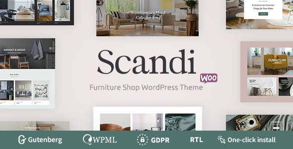 Scandi - Decor & Furniture Shop WooCommerce Theme 1
