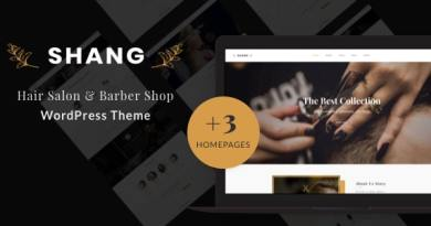 Shang - Hair Salon & Barber Shop WordPress theme 2