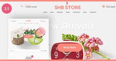 SHB ( Spa, Health & Beauty) - RTL Responsive Shop WooCommerce WordPress Theme 4