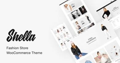 Shella - Fashion Store WooCommerce Theme 3
