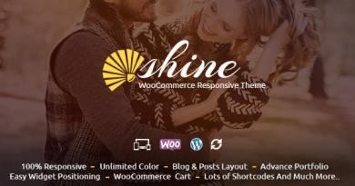 Shine - WooCommerce Responsive Theme 4
