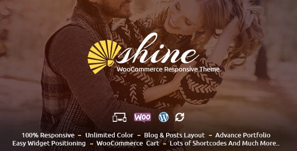 Shine - WooCommerce Responsive Theme 3