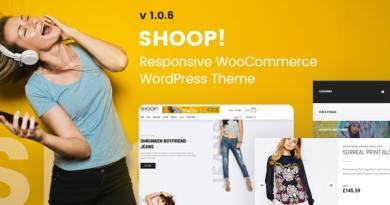 Shoop! - WordPress WooCommerce Shop Theme 2
