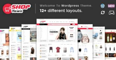 Shop Town - Multipurpose WooCommerce Theme 4