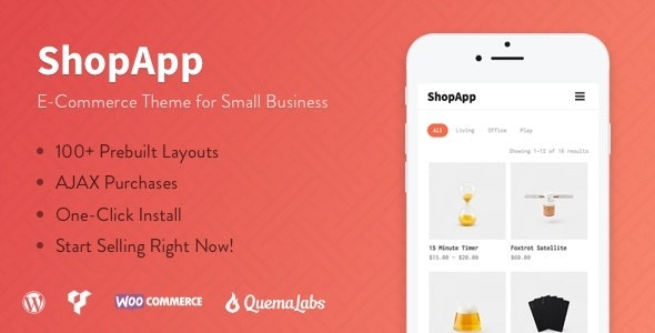 ShopApp - WordPress Theme for Small Business 6