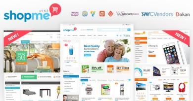 ShopMe - Multi Vendor Woocommerce WordPress Theme 3