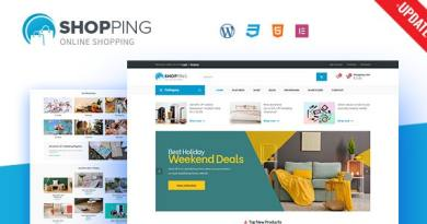 Shopping - WooCommerce WordPress Theme 4