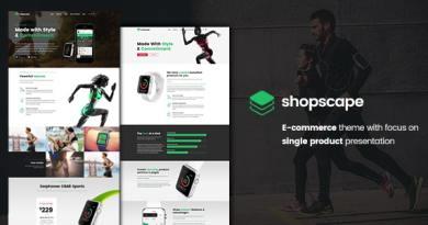 Shopscape - Single Product Presentation 3