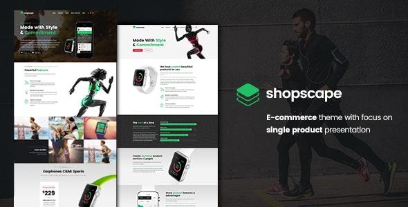 Shopscape - Single Product Presentation 10