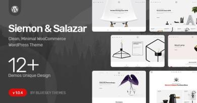 Siemon & Salazar - Clean, Minimal WooCommerce Theme 19