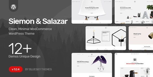Siemon & Salazar - Clean, Minimal WooCommerce Theme 20