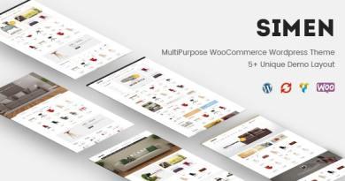 Simen - MultiPurpose WooCommerce WordPress Theme 4