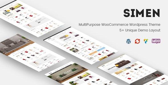 Simen - MultiPurpose WooCommerce WordPress Theme 7